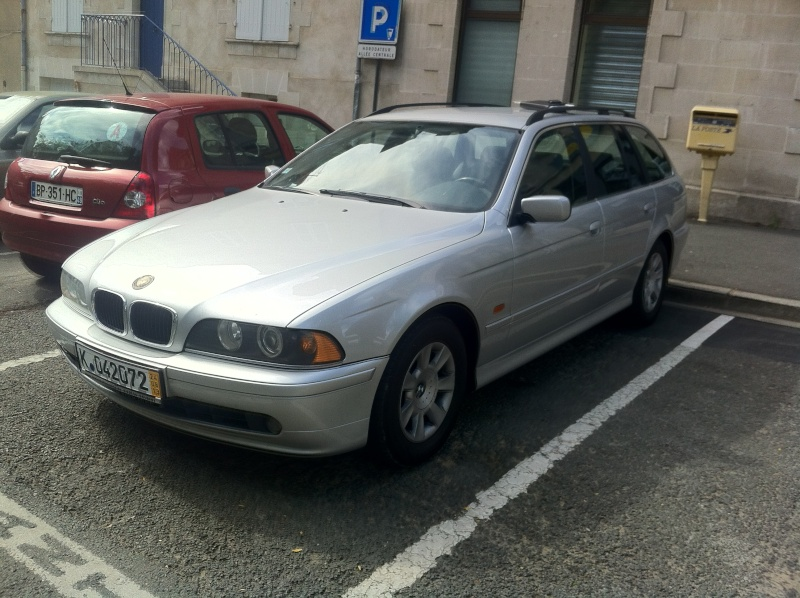 [525d touring e39] The Silverstar Img_0611