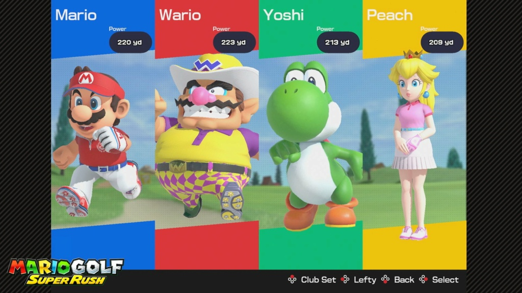 Mario Golf Super Rush - it's not Strikers though, is it? Eujlf910