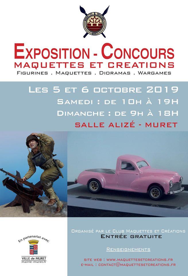 Exposition -Concours le 5 et 6 Octobre 2019 Muret (31)  58978311