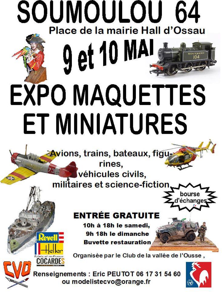 Exposition Soumoulou (64) Le 9 et 10 Mai 2020  78744010