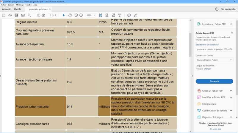 [ Peugeot 607 2,2 hdi 136 an 2005 ] problème sous pression turbo (résolu) - Page 2 Pressi10