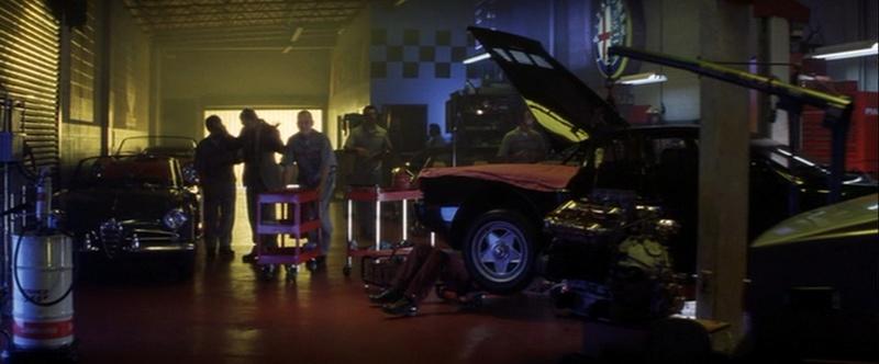 Les automobiles et le cinéma Garage10