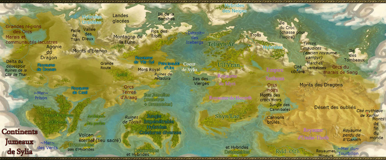 Carte du monde de Sylia Dual_c10
