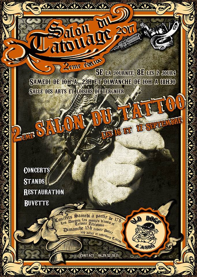 2eme Salon du Tattoo des Olds Dogs 17951410