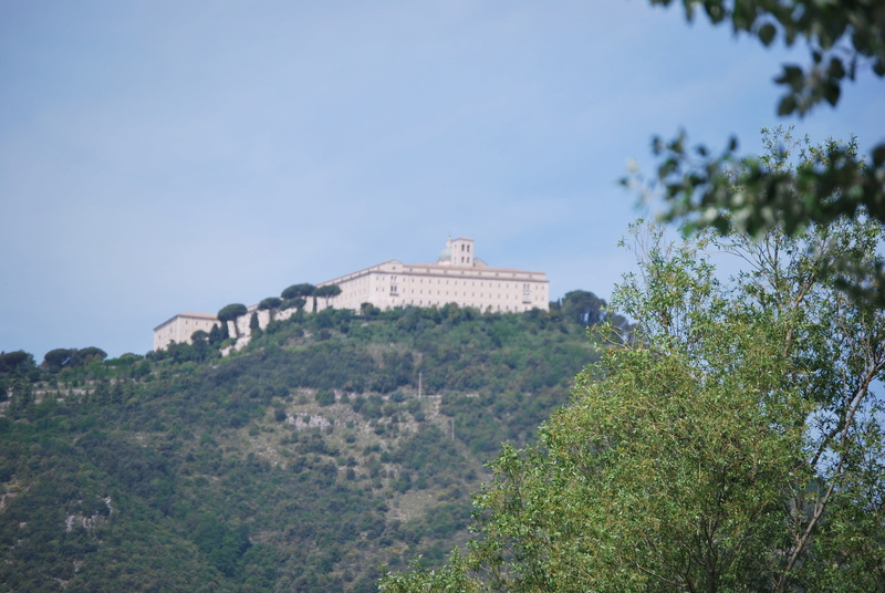 Cassino, son mont, son abbaye ... Dsc_0910