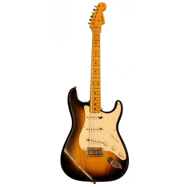 la strat de holly ........ Fender10