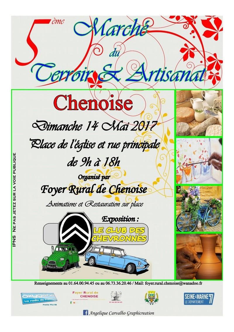 5 ème Marché du Terroir et Artisanat à Chenoise Marchy10