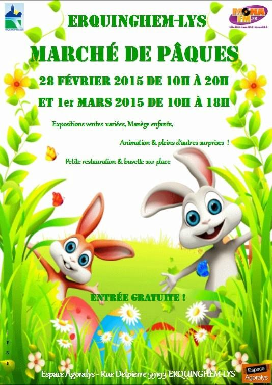 Affiche pour Pâques  10197210