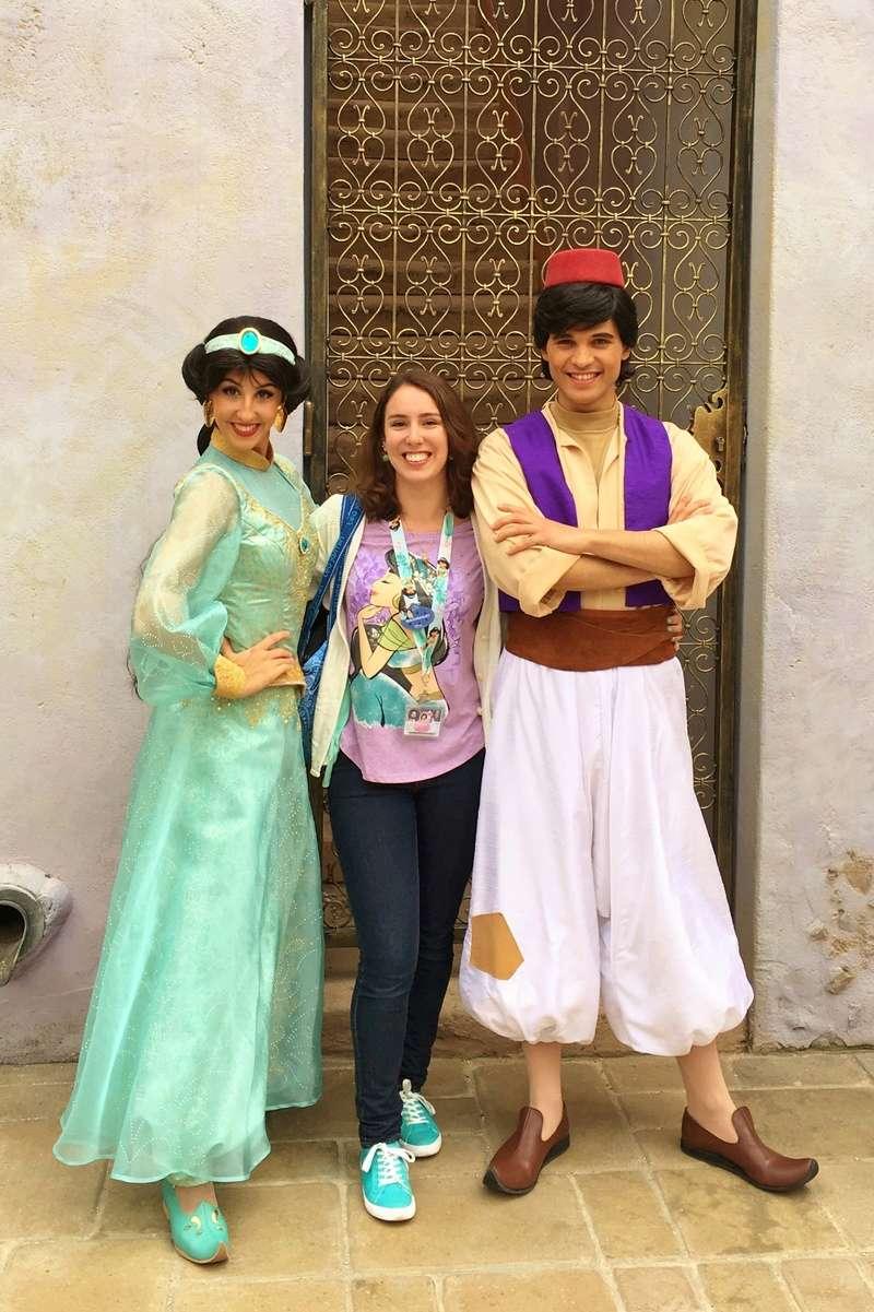 Vos photos avec les Personnages Disney - Page 38 Jasmin11