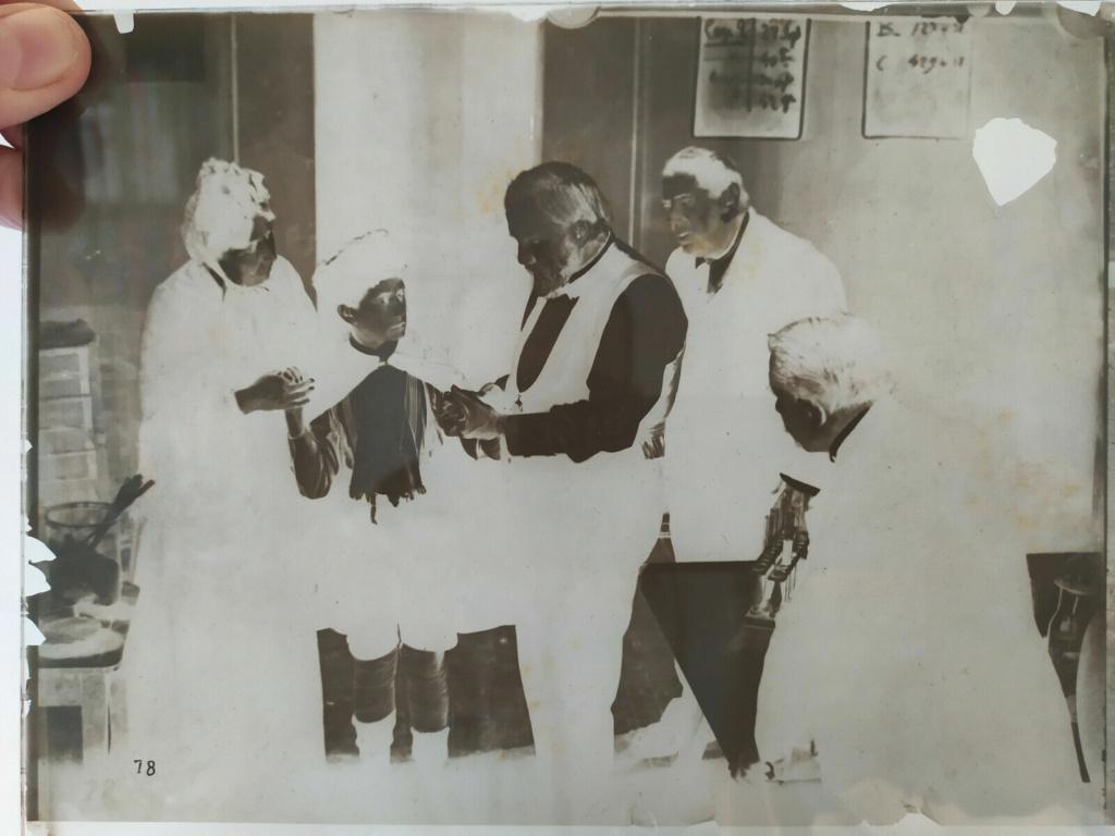 Plaque de verre - négatif - Pasteur S-l16030