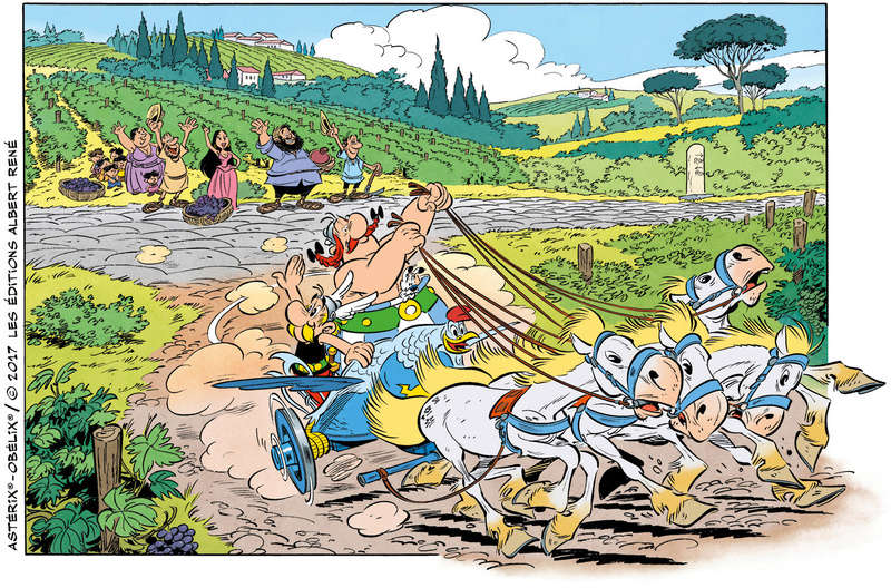 Un nouvel album d'Asterix pour le 19 octobre 2017 Asteri13