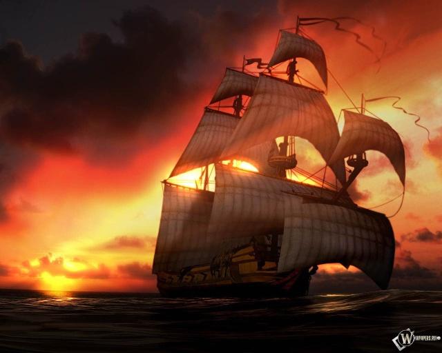 Raging Storm Pirates Wallpa12