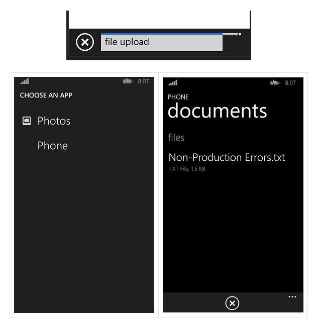[WINDOWS PHONE] IE 11 permettra l'upload de fichiers Ie11up10
