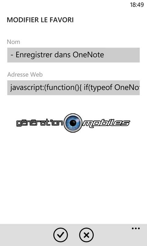 [TUTO] Enregistrer une capture d'une page web dans OneNote Img0220