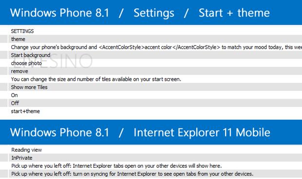 [WINDOWS PHONE] D'autres nouveautés dévoilées par le SDK 8.1 Window10