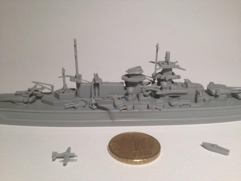 Croiseur de bataille scharnhorst 1/1200 revell Img_1029