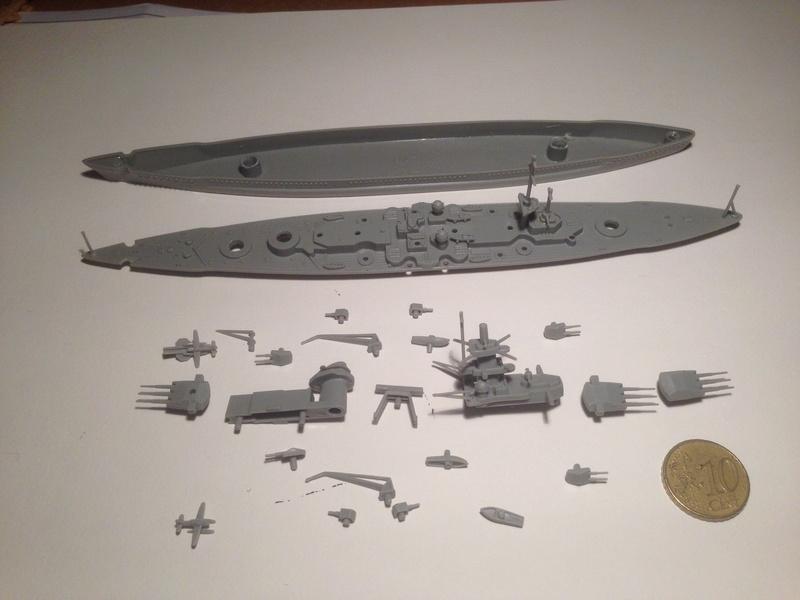 Croiseur de bataille scharnhorst 1/1200 revell Img_1031