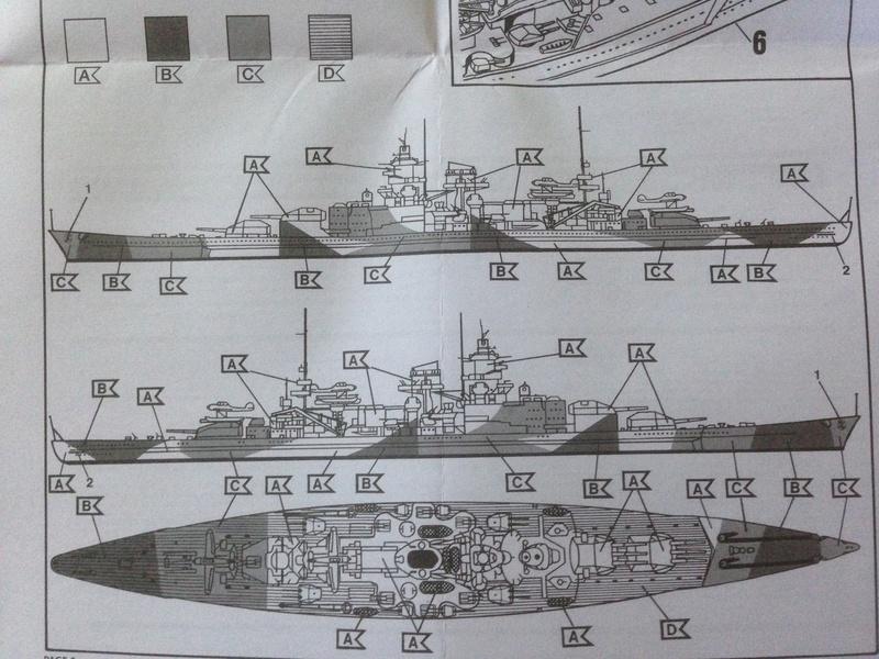 Croiseur de bataille scharnhorst 1/1200 revell Img_1032