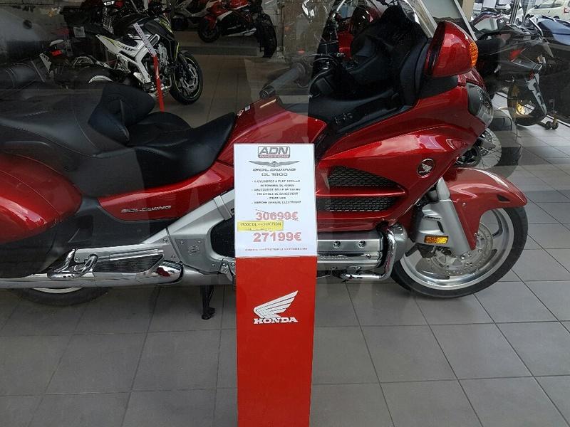 Remise / Promotion sur achat Goldwing 1800 Goldwi11