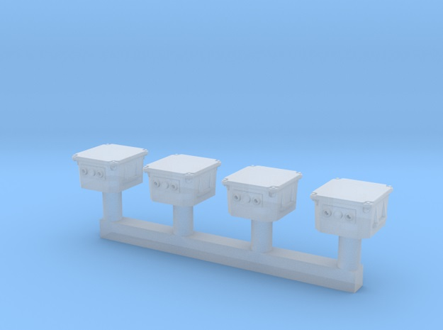 [TJ-Modeles] Accessoires en impression 3D - Echelle H0 Tj-h0420