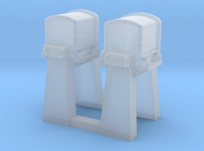 [TJ-Modeles] Accessoires en impression 3D - Echelle H0 Tj-h0423