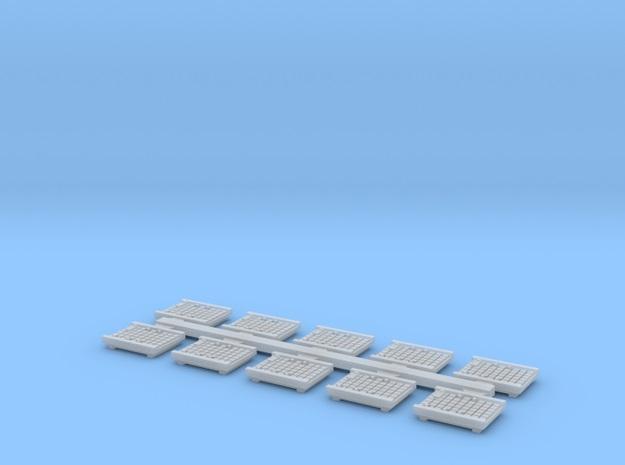[TJ-Modeles] Accessoires en impression 3D - Echelle H0 Tj-h0429