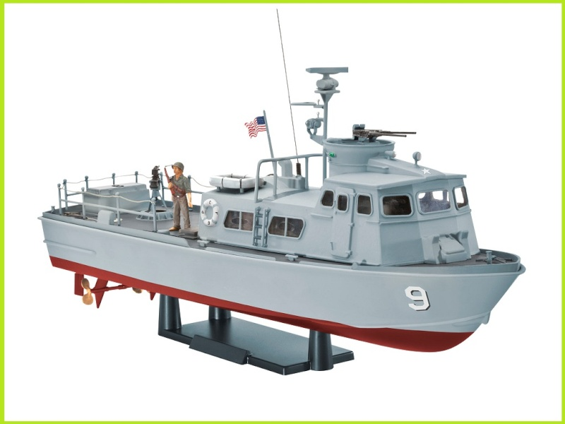 evell maquette Bateau 05122 US Navy SWIFTBOAT (PCF) 1/48 05122_10