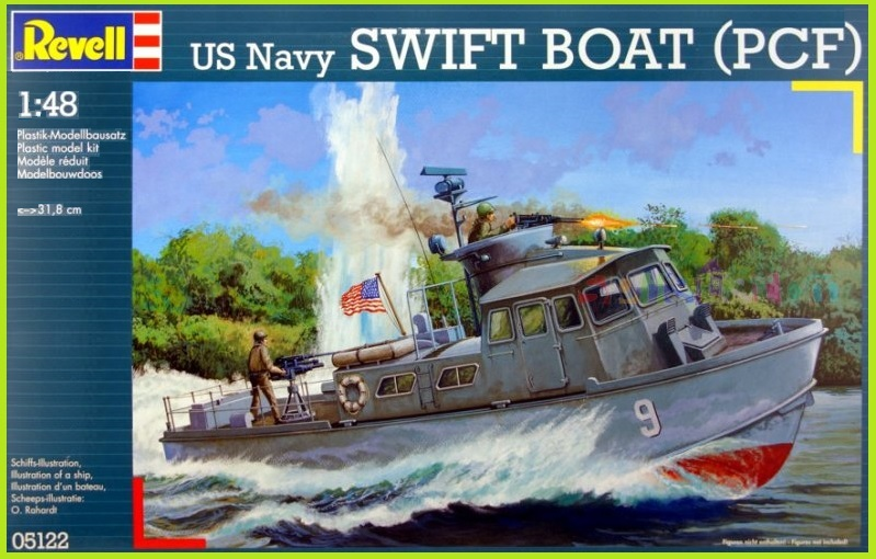 evell maquette Bateau 05122 US Navy SWIFTBOAT (PCF) 1/48 5122_g10
