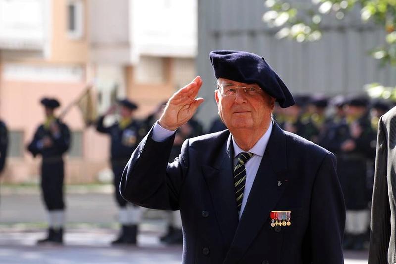 _ DÉCÈS DU PRÉSIDENT NATIONAL DE L'Amicale nationale du 7° BCA. _5164410