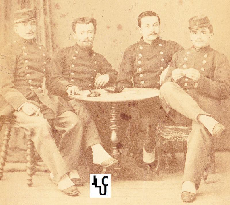 Tenues de l'Infanterie de Marine par la photographie,  1873-1886 (Marsouins) Ph_inf12