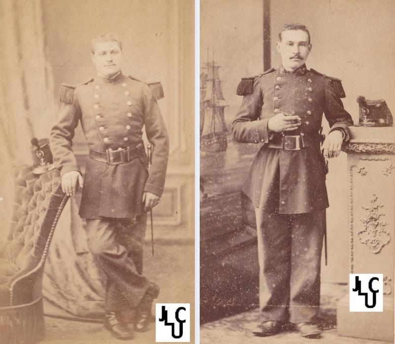 Tenues de l'Infanterie de Marine par la photographie,  1873-1886 (Marsouins) Sans_t11