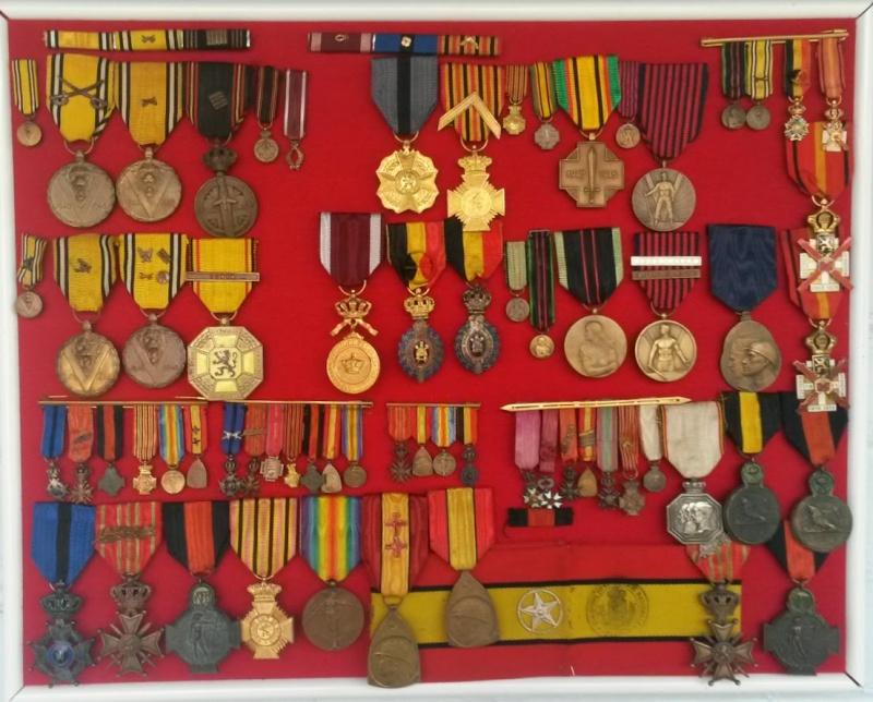 Quelques médailles belges 20140310