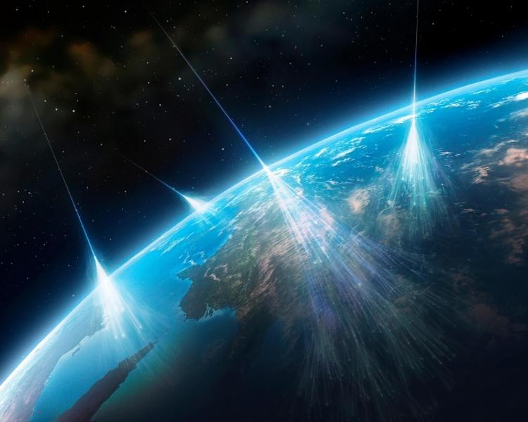 L'énergie cosmique atteint une intensité incroyable 1631