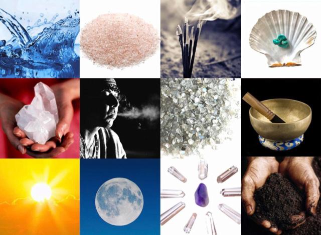 Méthodes de purification et de rechargement des cristaux et des pierres Purifi11