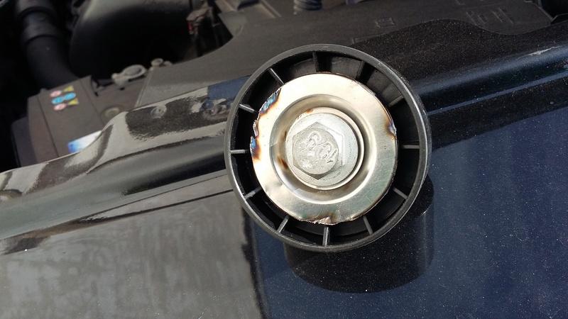 TUTO : remplacement courroie et galets Dodge Caliber essence 20170323
