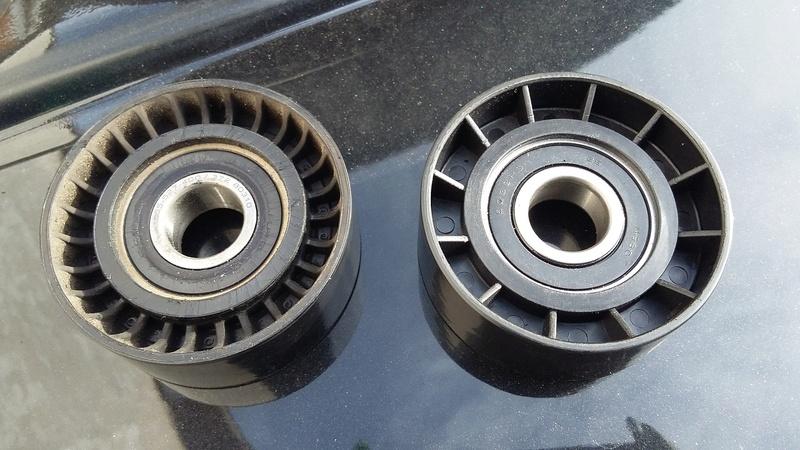 TUTO : remplacement courroie et galets Dodge Caliber essence 20170325