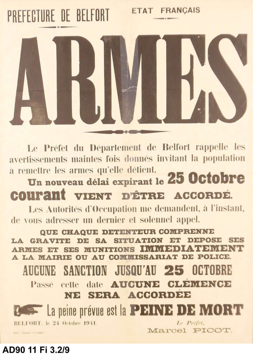 munition d'instruction calibre 20mm Affich10