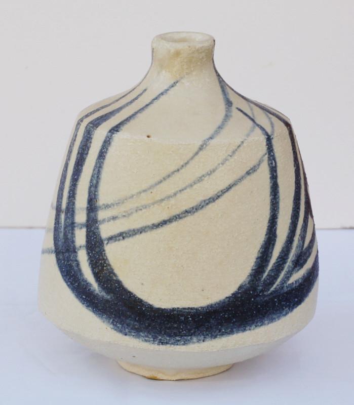 Stoneware vase signed C.M dated 57. Amateur? Dsc_0416