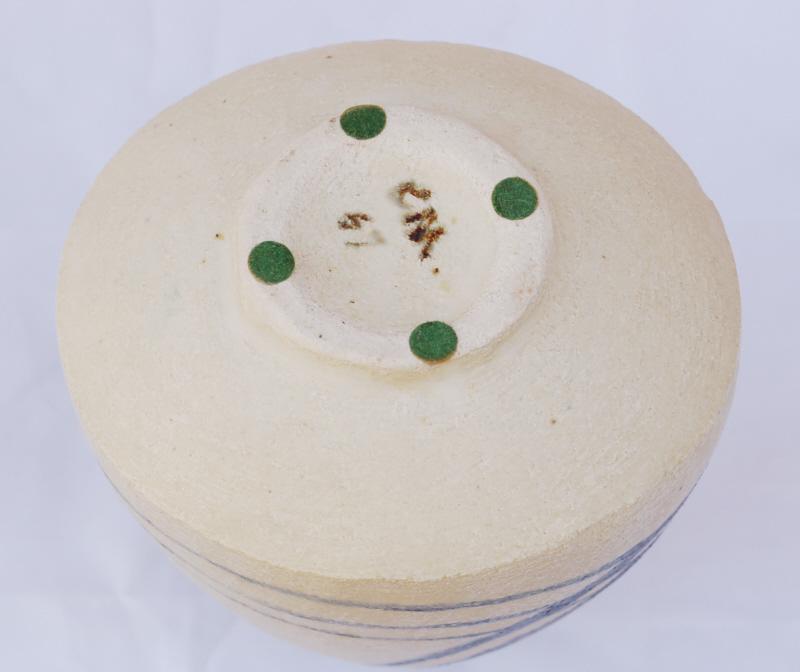 Stoneware vase signed C.M dated 57. Amateur? Dsc_0417