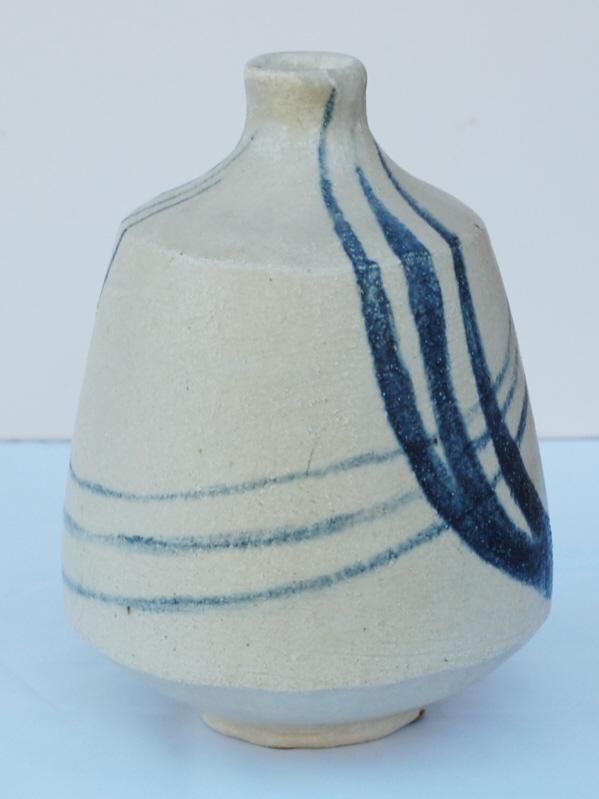 Stoneware vase signed C.M dated 57. Amateur? Dsc_0418