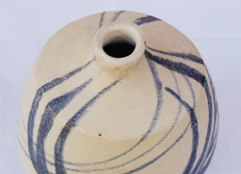 Stoneware vase signed C.M dated 57. Amateur? Dsc_0419