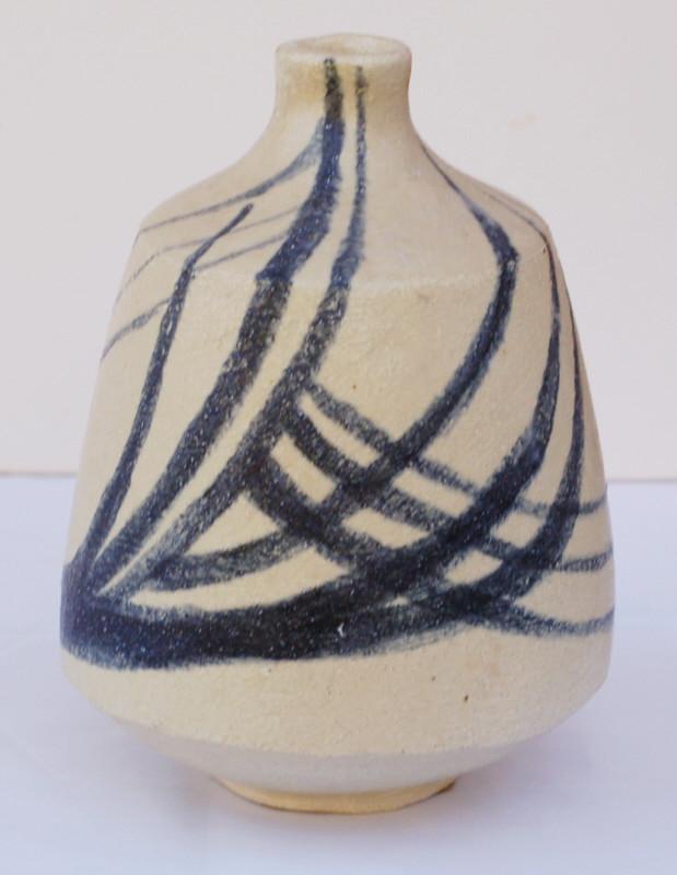 Stoneware vase signed C.M dated 57. Amateur? Dsc_0420