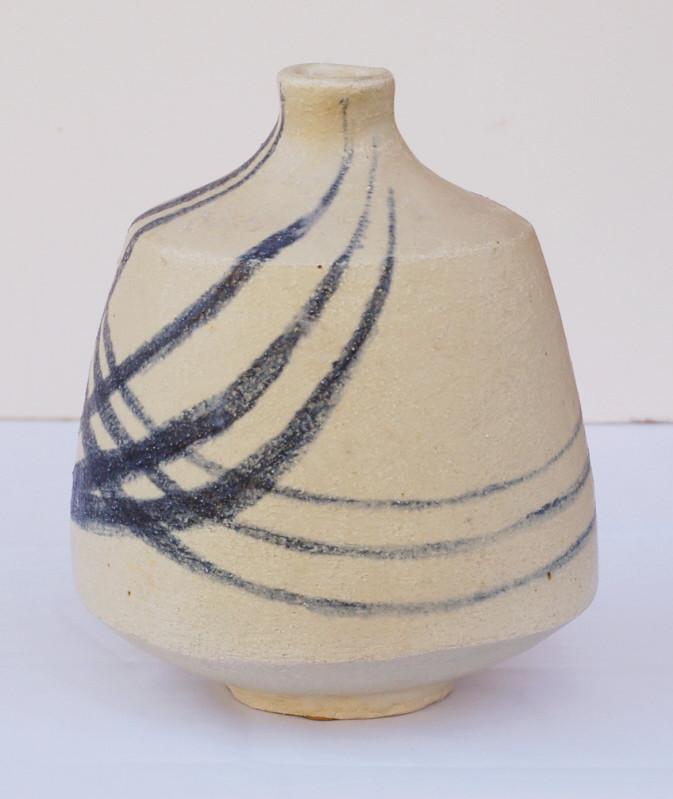 Stoneware vase signed C.M dated 57. Amateur? Dsc_0421