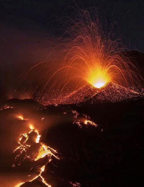 Le spettacolari immagini dell'Etna - Eruzione del 27 - 28 Febbraio 2017 Scherm10