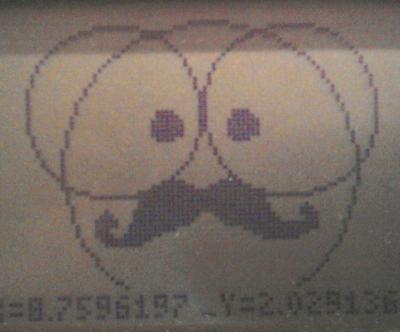 La calculatrice, un outil pour dessiner. Fff10