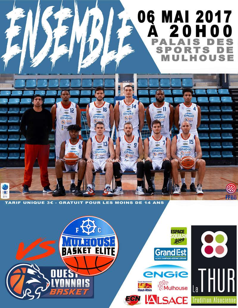 [J.25] FC MULHOUSE - Ouest Lyonnais Basket : 81 - 75 Affich10