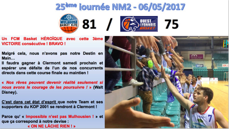 [J.25] FC MULHOUSE - Ouest Lyonnais Basket : 81 - 75 - Page 3 Captur11