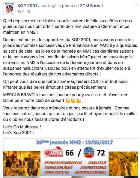 [J.26]Clermont Basket Ball - FC MULHOUSE : 66-72 => On se maintient! - Page 8 Captur14