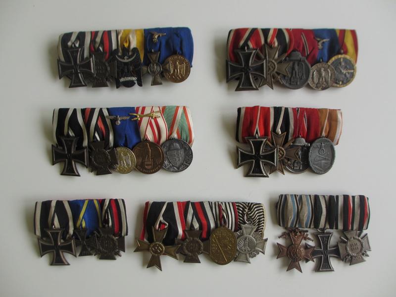 Vos barrettes & rappels de décorations - médailles Img_6519