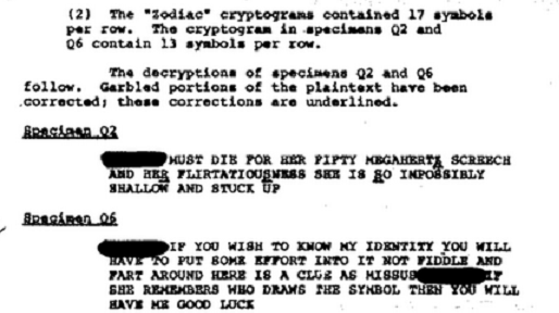 'Here's a clue....' - FBI partly Decipher Code: Cipher10